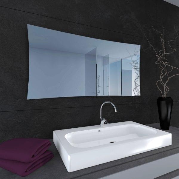 Portofino Bathroom Radiator Mirror Funkyheat