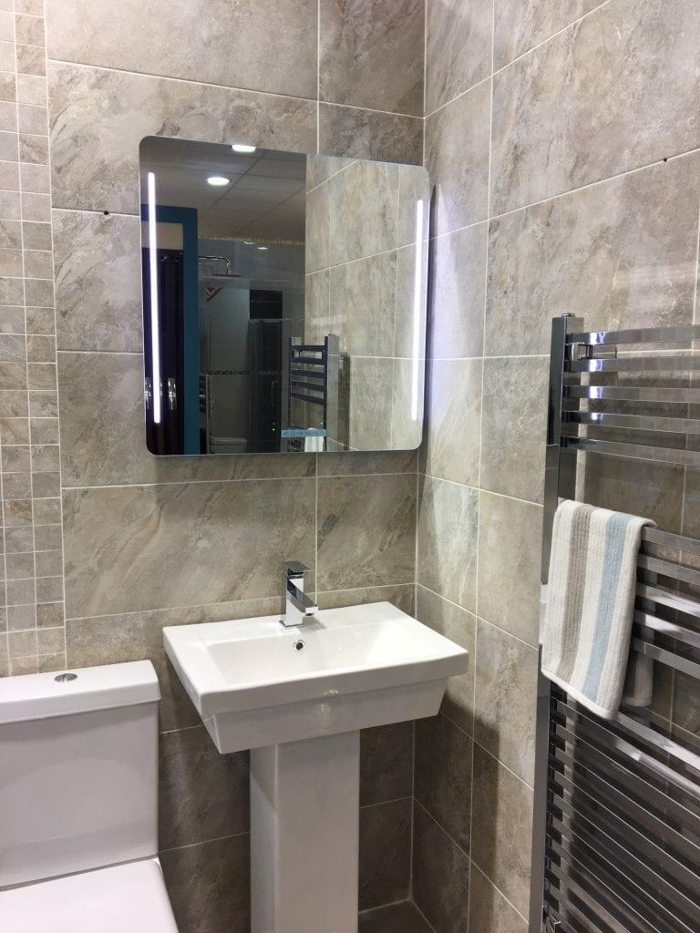 Bathroom Heating with Style, Efficiency & Comfort