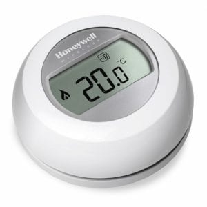 Single Zone Honeywell Thermostat for Infrared Heaters Angle
