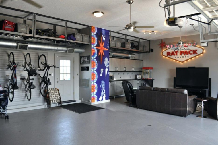 How To Turn An Ordinary Garage Into A Splendid Playroom For Kids